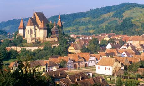 Biertan village, Transylvania